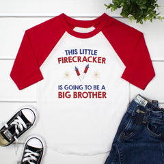 This Little Firecracker Is Going To Be A Big Bro JUL-014