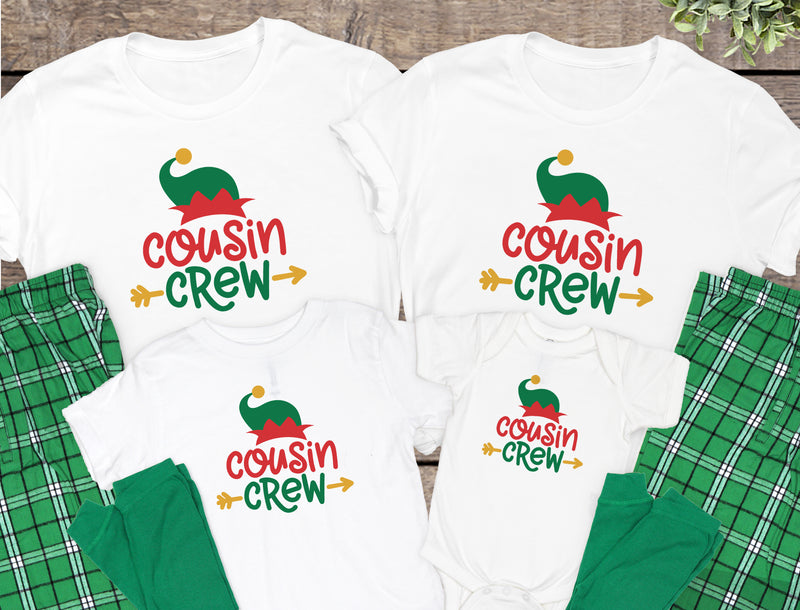Cousin Crew Christmas Pajamas