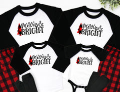 Merry & Bright Buffalo Christmas Pajamas