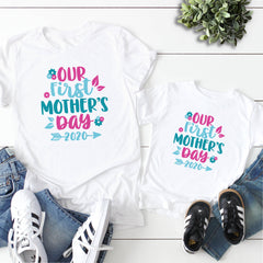 Our First Mother's Day Typography MOM-024