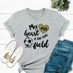 My Heart is on That Field Soccer MOM-029