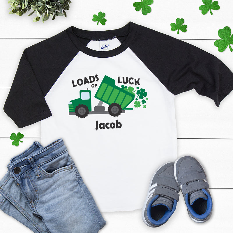 St. Patrick's Day Loads of Luck Shirt PAT-014