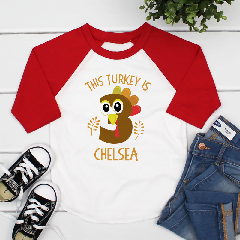 This Turkey Is Three Birthday THA-027