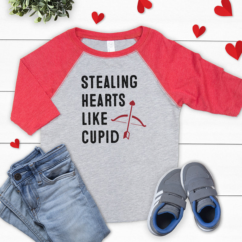 Stealing Hearts Like Cupid - Valentine's Day Shirt VAL-002