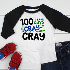 100 Days of Cray Cray Raglan HUN-001