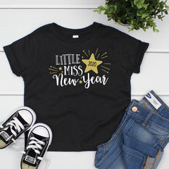 Little Miss New Year Tshirt