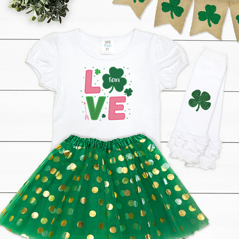 St. Patrick's Day Love Outfit PAT-023