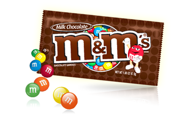 M&Ms Sabor Chocolate 42.5gr.