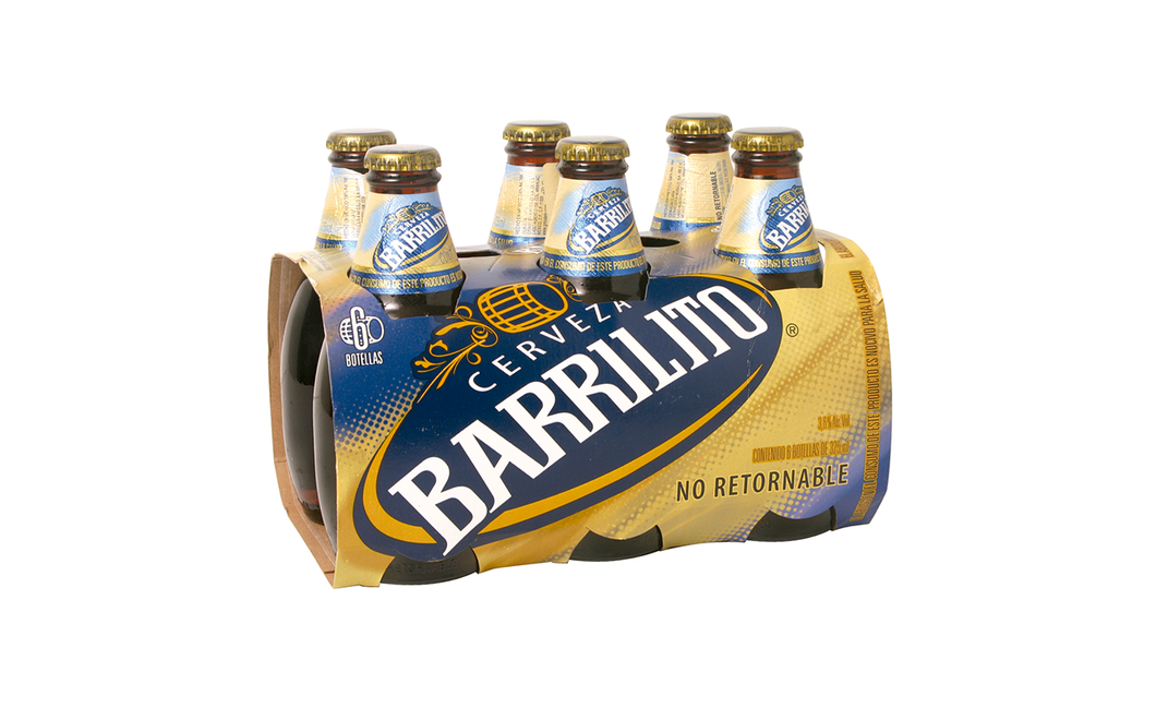 Cerveza Botella Regular Barrilito Corona 6.0 - Pack