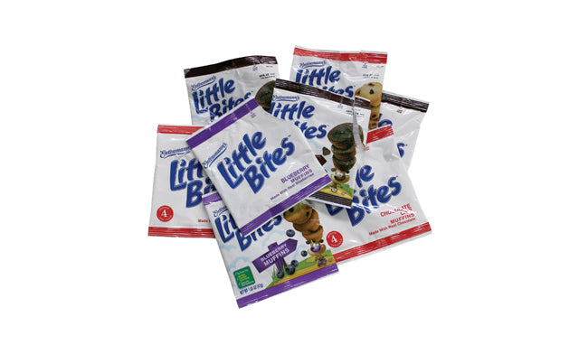 Little Bites Mini Muffins Vainilla 92gr
