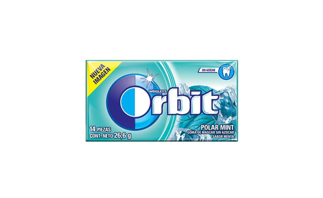 Orbit Chicle Menta 26gr.