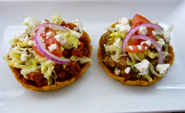 Sopes de Chicharron
