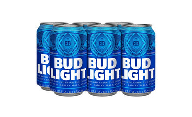 Bud Light Six Pack Lata