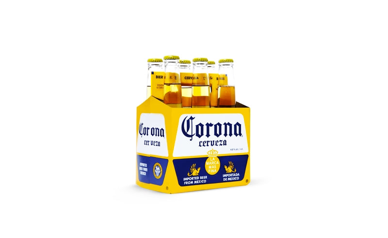 Corona Six Pack Botella