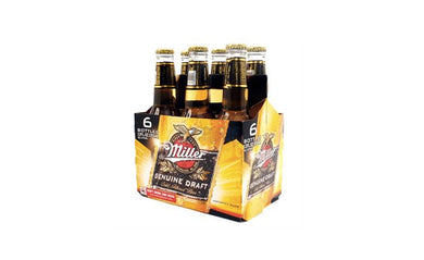 Miller Genuine Draft Six Pack