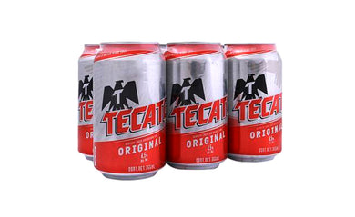 Tecate Roja Six Pack