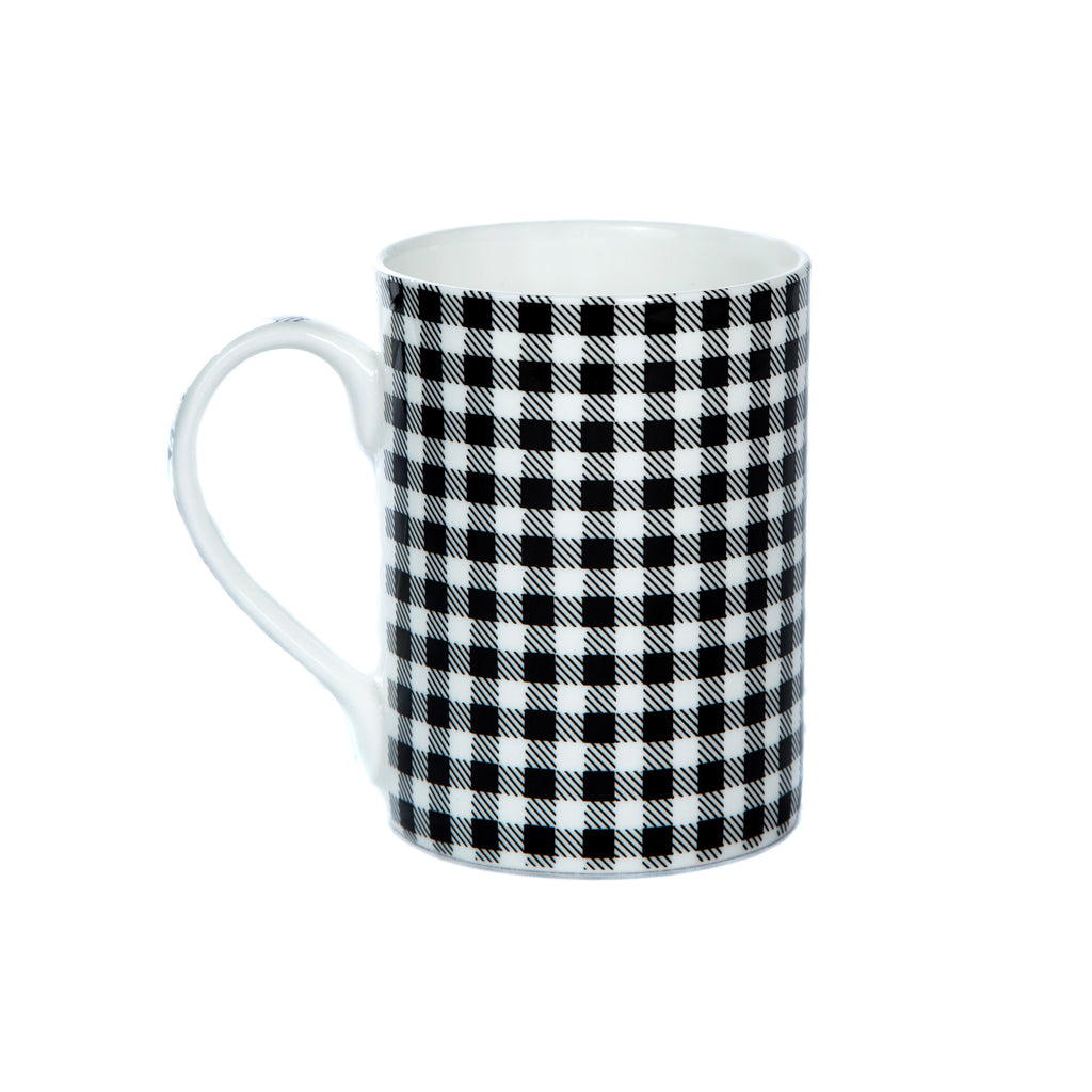 China Tartan Mug - Single