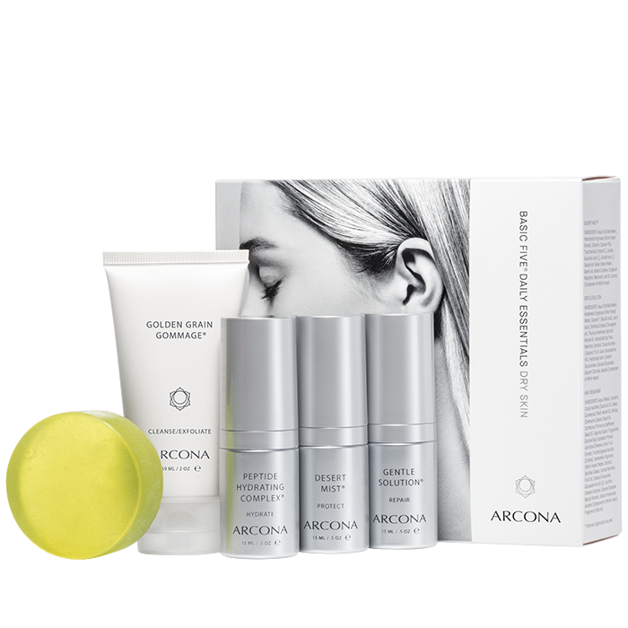 Modal Image - Arcona The Basic Five Dry Skin