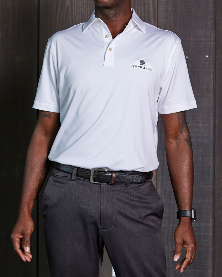 Peter Millar Solid Sean Stretch Polo