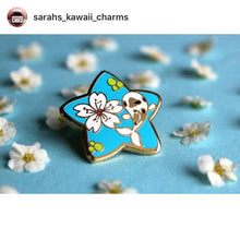 Kawaii Chubby Mouse Lilninja Star Enamel Pin