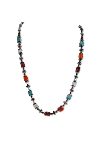 NEW.... FIA3 Bright semi precious stone necklace