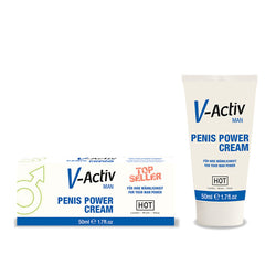 HOT V-activ Penis Power Cream