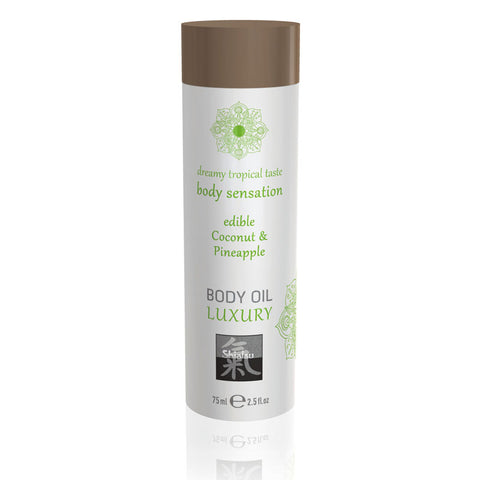 SHIATSU Edible Body Oil - Luxury