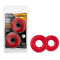 Stay Hard - Donut Rings Oversized