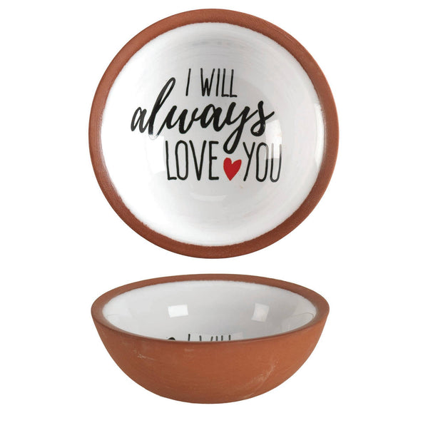 I Will Always Love You Terra Cotta Tray - Poppy Boutique