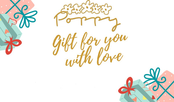 Poppy Gift Card - Poppy Boutique MB