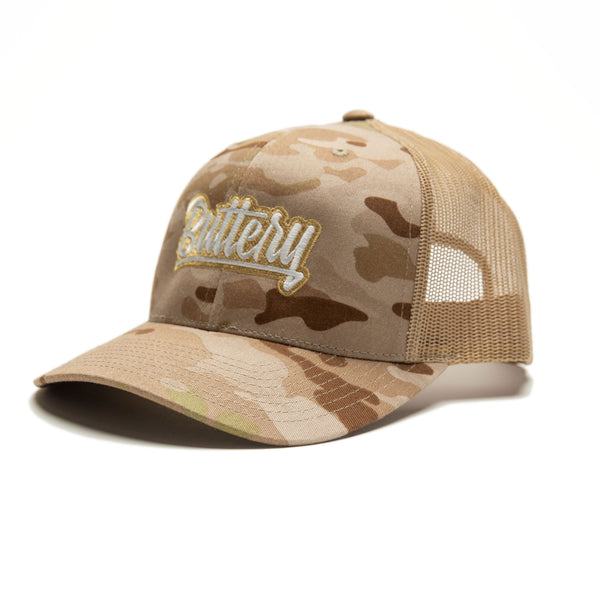 Signature Multicam Trucker Cap