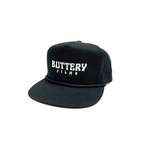 Buttery Rope Cap Black