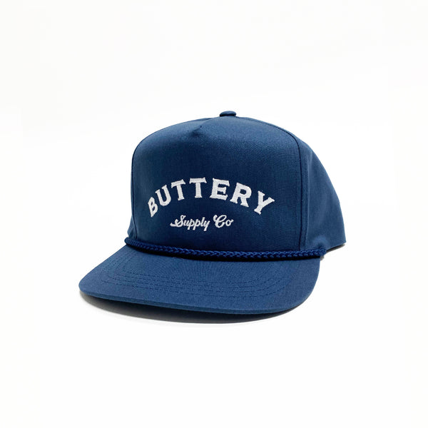 Buttery Rope Cap Navy
