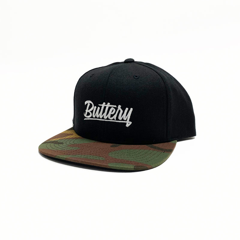 Buttery Camo Snap Back