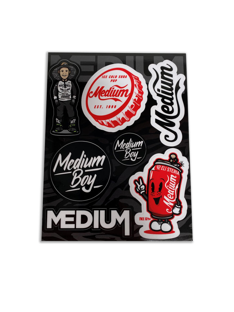 Medium Boy Sticker Sheet