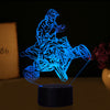 3D Optical Illusion Quad Vol.2 LED Lamp - 7 Colors Changeable