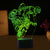 3D Optical Illusion Stopping LED Lamp - 7 Colors Changeable