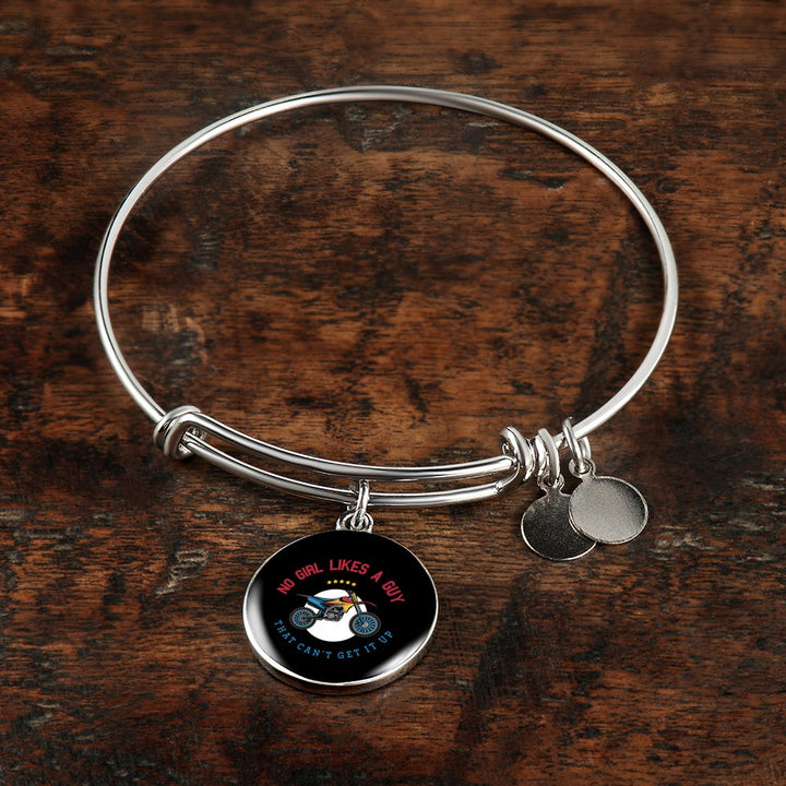 No Girl Likes A Guy That Cant Get It Uo Necklace & Bangle