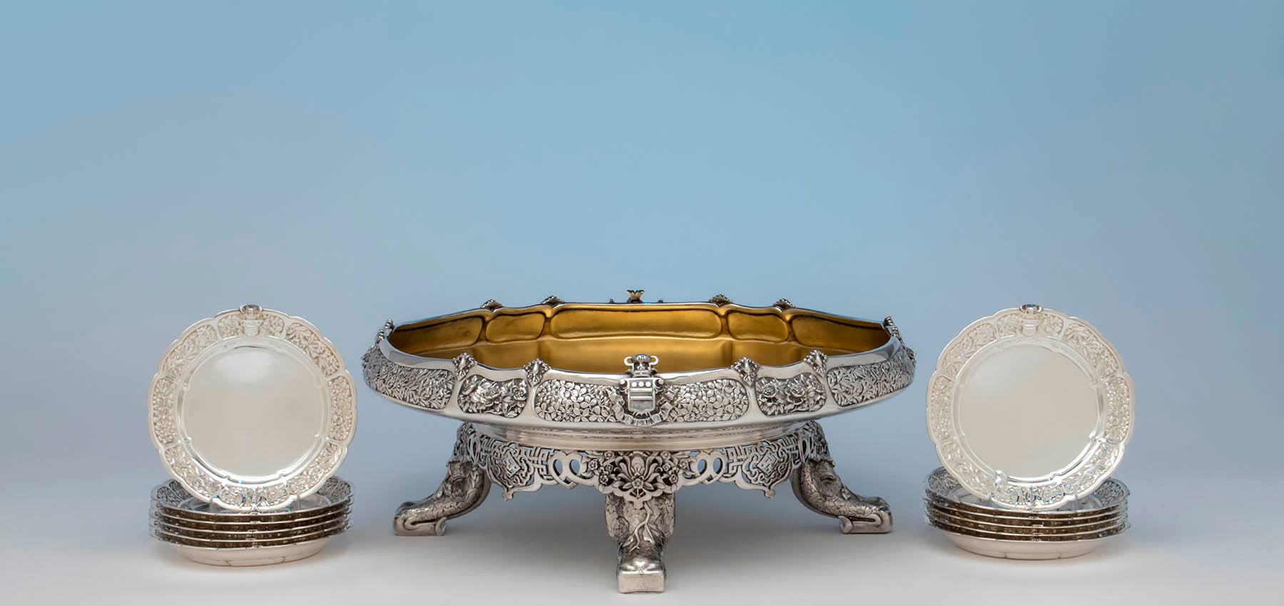 The Mackay Service, </br> Tiffany & Co.'s Greatest Dinner Service </br></br></br>