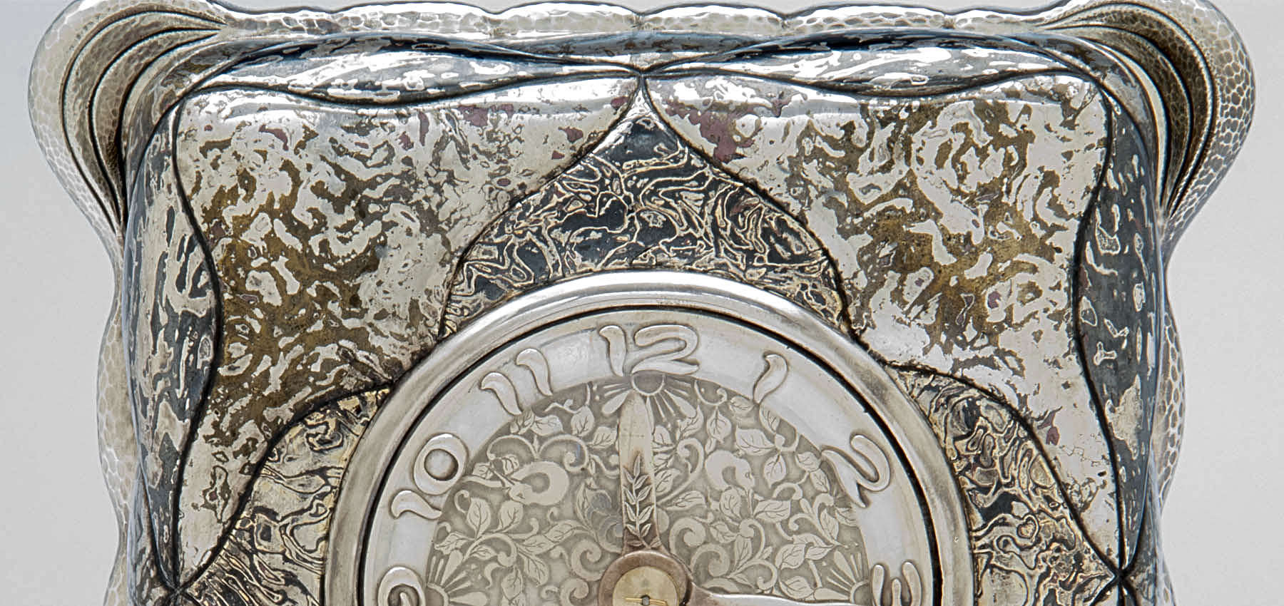 Tiffany & Co. Mixed Metals Mokume Clock Face Detail