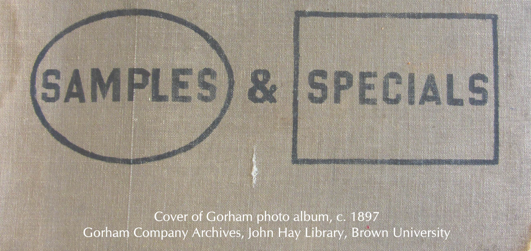 "Silver ""Samples"" & ""Specials"" at Gorham"