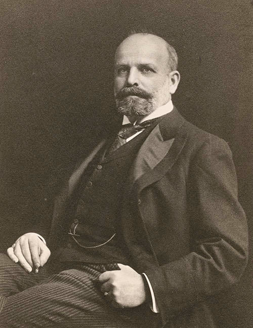 Edward Holbrook, president of Gorham from 1894 to 1919, in a photograph of c. 1910. Gorham Manufacturing Company Archive, John Hay Library, Brown University, Providence, Rhode Island