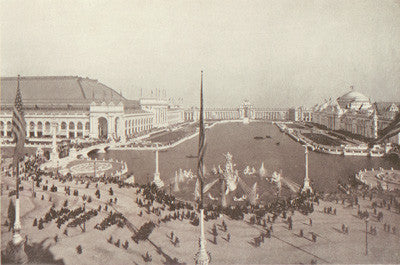 The Grand Court of Honor at the World's Columbian Fair 1893