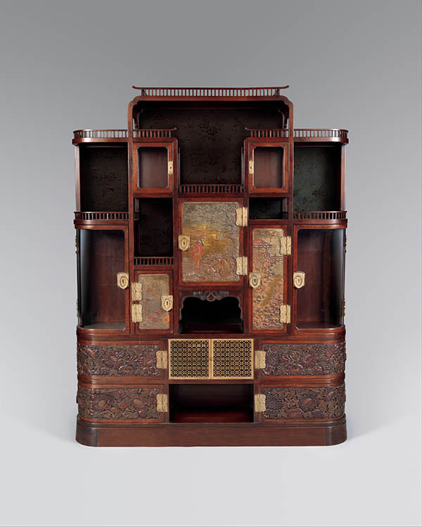 Herter Brothers cabinet for William H. Vanderbilt, 1879-82, courtesy of Metmuem.org