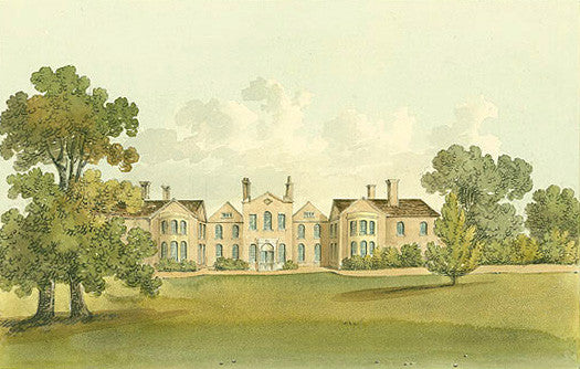 Ashley Park, Walton-on-Thames in Surrey, in the 1820's when owned by Sir Henry Fletcher from whose family it was purchased by Sassoon David Sassoo