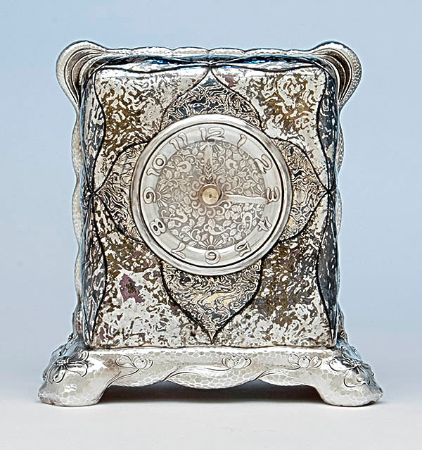 Tiffany & Co. Mokume Clock, c. 1880