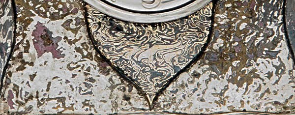 Tiffany & Co. Mokume detail