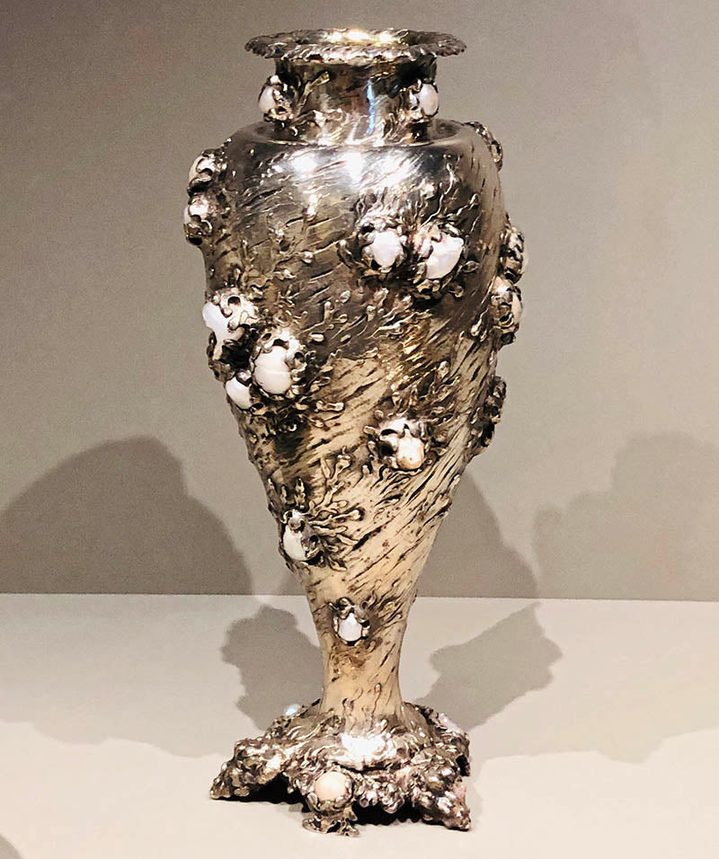 "The ""Pearl Vase"" made by Tiffany for the Columbian Exposition, 1893"
