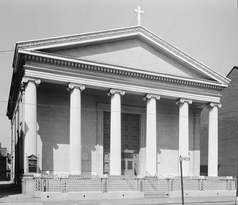 St Andrew's Church, now St. George's Cathedral, Philadelphia