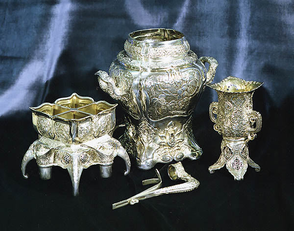 "Tiffany & Co Silver Wine Cooler, etc., c. 1878, Part of the ""Mackay Service"""